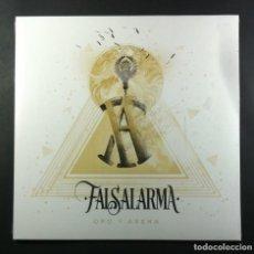 Discos de vinilo: FALSALARMA - ORO Y ARENA - LP 2020 - BOA (NUEVO / PRECINTADO). Lote 263739630
