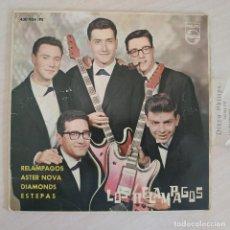 Discos de vinilo: LOS RELAMPAGOS - RELAMPAGOS / ASTER NOVA / DIAMONDS / ESTEPAS - EP PHILIPS 1963 CON LA LENGÜETTA. Lote 263743130