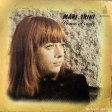 Discos de vinilo: MARI TRINI - COMO EL ROCÍO. Lote 263748050
