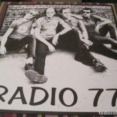 Discos de vinilo: LP RADIO 77 TERRORISMO JUVENIL POP MACHINE 1996. Lote 263749245