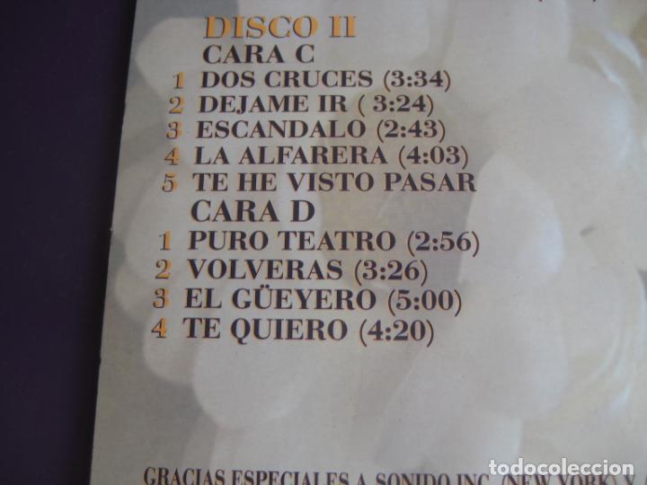 Discos de vinilo: Los Sabandeños – Bolero - DOBLE LP MANZANA 1995 - SILVIO RODRIGUEZ - LA LUPE - BENY MORE - GUILLOT - Foto 4 - 263751870