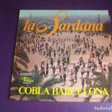 Discos de vinilo: LA SARDANA - COBLA BARCELONA - LP EKIPO 1967 - SIN APENAS USO - FOLK TRADICIONAL CATALAN - CATALUÑA. Lote 263752855
