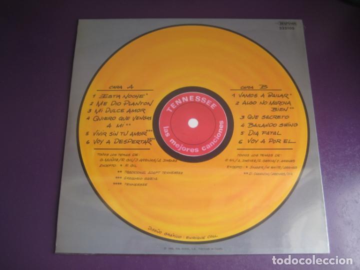 Discos de vinilo: Las Mejores Canciones De Tennessee - LP DIAL 1990 PRECINTADO - ROCK N ROLL - DOO WOP - Foto 2 - 263755660