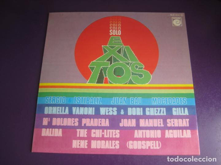 SOLO EXITOS - LP RECOP NOVOLA 1975 - SERRAT - MOCEDADES - ORNELLA VANONI - ETC 12 TEMAS - SIN USO (Música - Discos - LP Vinilo - Grupos Españoles de los 70 y 80)