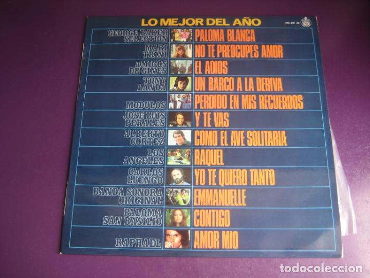 LO MEJOR DEL AÑO - LP HISPAVOX 1975 - MODULOS - PERALES - LOS ANGELES - RAPHAEL - EMMANUELLE ETC (Música - Discos - LP Vinilo - Grupos Españoles de los 70 y 80)