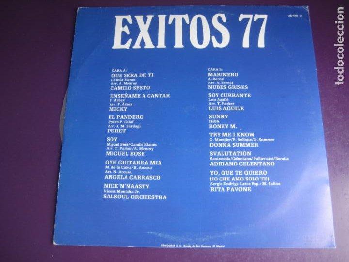 Discos de vinilo: EXITOS 77 - LP RECOP ARIOLA - MIGUEL BOSE - PERET - CAMILO SESTO - CELENTANO - RITA PAVONE -ETC - Foto 2 - 263757380