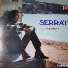Discos de vinilo: SERRAT LP HECHO EN VENEZUELA VER LA FOTOGRAFIA. Lote 263762785
