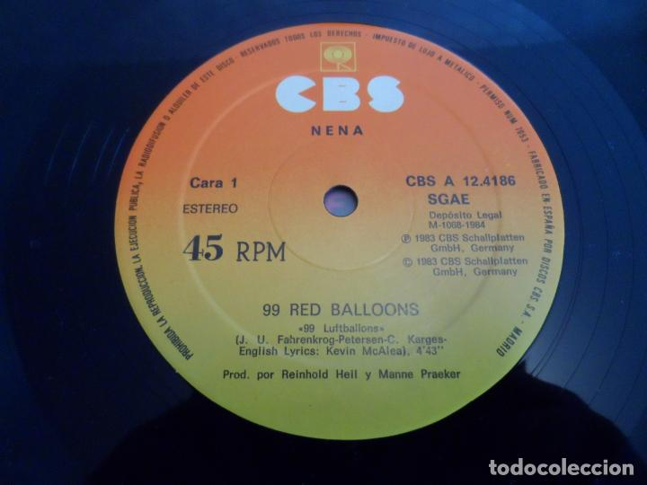 Discos de vinilo: NENA - 99 RED BALLONS - Foto 3 - 263764715