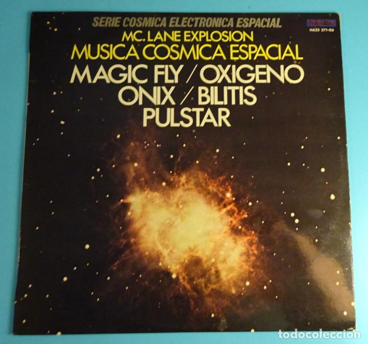 SERIE CÓSMICA ELECTRÓNICA ESPACIAL. MC LANE EXPLOSION. OXYGEN. MAGIC FLY........ (Música - Discos - LP Vinilo - Electrónica, Avantgarde y Experimental)