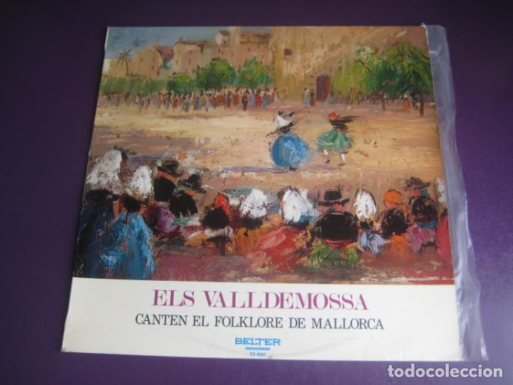 ELS VALLDEMOSSA CANTEN EL FOLKLORE DE MALLORCA - LP BELTER 1972 - FOLK POP 70'S - LEVE USO (Música - Discos - LP Vinilo - Grupos Españoles de los 70 y 80)