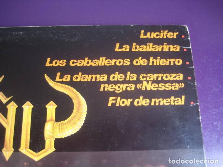 Discos de vinilo: Ñu – Fuego - LP CHAPA 1983 EDICION ORIGINAL CON LETRAS Y POCO USO - HARD ROCK FOLK METAL - Foto 5 - 263777150