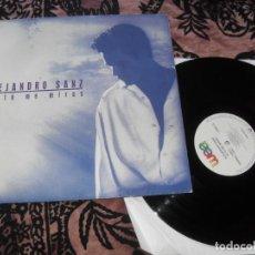 Discos de vinilo: ALEJANDRO SANZ LP. SI TU ME MIRAS. MADE IN GERMANY. 1993. Lote 263787345
