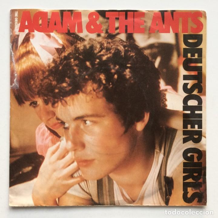 THE ORIGINAL ADAM & THE ANTS – DEUTSCHER GIRLS / PLASTIC SURGERY UK,1986 EG (Música - Discos - Singles Vinilo - Punk - Hard Core)