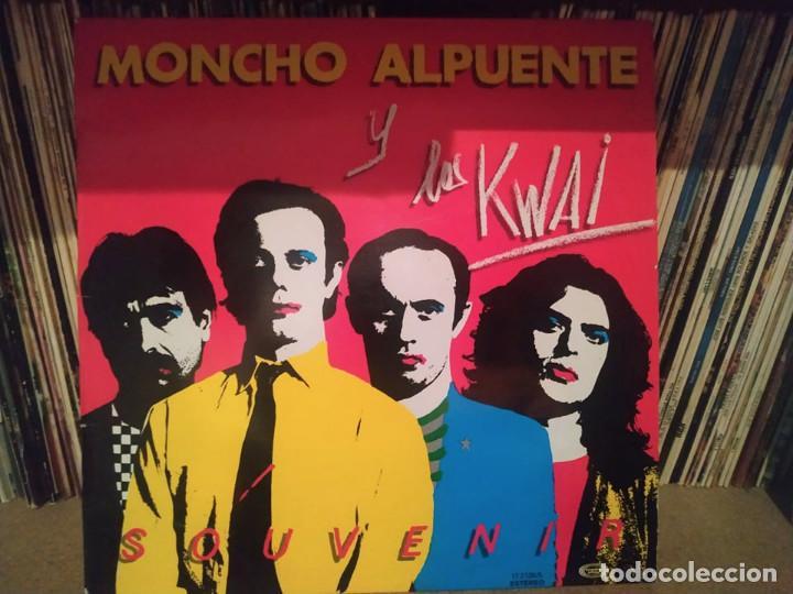 MONCHO ALPUENTE Y LOS KWAI - SOUVENIR - LP 1980 - MOVIEPLAY (Música - Discos - LP Vinilo - Grupos Españoles de los 70 y 80)