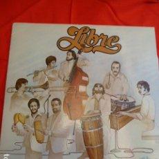 Discos de vinilo: LIBRE -TIENE CALIDAD -TOCA JERRY GONZALEZ -LP. Lote 263801480