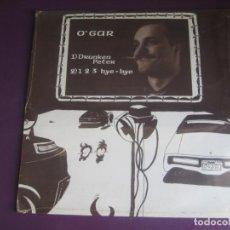 Discos de vinilo: O'GAR – DRUNKEN PETER / 1,2,3 BYE BYE MAXI SINGLE VICTORIA 1985 PRECINTADO - ELECTRONICA DISCO 80S. Lote 263803260