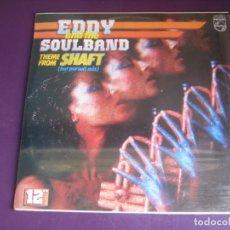 Discos de vinilo: EDDY & THE SOULBAND – THEME FROM SHAFT - MAXI SINGLE DIANA 1985 PRECINTADO - ELECTRONICA FUNK DISCO. Lote 263804515