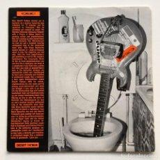 Discos de vinilo: CARTER THE UNSTOPPABLE SEX MACHINE – SHERIFF FATMAN / R.S.P.C.E. UK,1991 BIG CAT. Lote 263807225