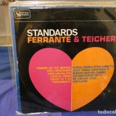 Discos de vinilo: BONITO LP ESPAÑOL STANDARDS POR FERRANTE Y TEACHER 1963 BUEN ESTADO. Lote 263874215