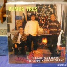 Discos de vinilo: LP RUMBA TRES FELIZ NAVIDAD 1988 BUEN ESTADO. Lote 263874995