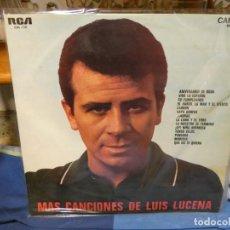 Discos de vinilo: LP MAS CANCIONES DE LUIS LUCENA AÑO 1968 BUEN ESTADO GENERAL. Lote 263885335