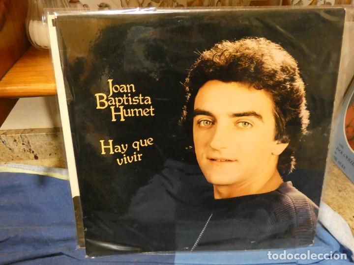 LP JOAN BAPTISTA HUMET HAY QUE VIVIR ESPAÑA 1980 BUEN ESTADO (Música - Discos - LP Vinilo - Jazz, Jazz-Rock, Blues y R&B)