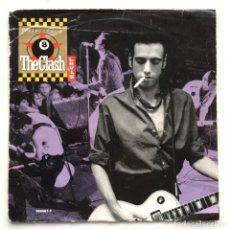 Discos de vinilo: THE CLASH / BAD II – SHOULD I STAY OR SHOULD I GO / RUSH UK,1991 COLUMBIA. Lote 263892275
