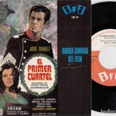 Discos de vinilo: ENRIQUE ESCOBAR - EL PRIMER CUARTEL - TEMAS MUSICALES - EP IFI 1966 - GUARDIA CIVIL. Lote 263902315