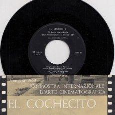 Discos de vinilo: CANNES 1960 PERICO EL DEL LUNAR / ASINS ARBO – EP DE LA BANDA SONORA DE LOS GOLFOS / EL COCHECITO. Lote 263904430