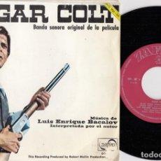 """Discos de vinilo: SUGAR COLT BSO OST LUIS ENRIQUE BACALOV SUGAR COLT 7"""" SINGLE 1967 EDICION ESPAÑOLA. Lote 263905150"""