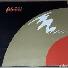 Discos de vinilo: MAXI- LA MUSICA DE FILMAX - MATERIAL GRAFICO Y ESCRITO - WILT - LEO SAYER - LOVE HURTS. Lote 263910825
