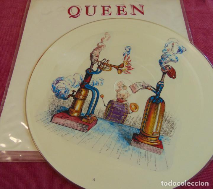 Discos de vinilo: Queen – Innuendo (Explosive Version) - 12 PICTURE DISC 1991 - Foto 4 - 263747470
