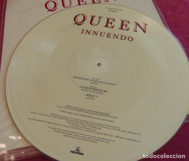 Discos de vinilo: Queen – Innuendo (Explosive Version) - 12 PICTURE DISC 1991 - Foto 5 - 263747470