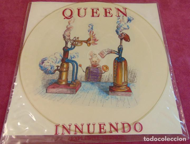 QUEEN – INNUENDO (EXPLOSIVE VERSION) - 12'' PICTURE DISC 1991 (Música - Discos de Vinilo - Maxi Singles - Pop - Rock Internacional de los 90 a la actualidad)
