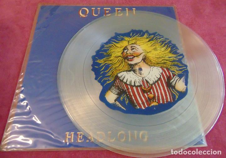 Discos de vinilo: Queen – Headlong - MAXISINGLE 12 PICTURE DISC 1991 - Foto 2 - 263749690