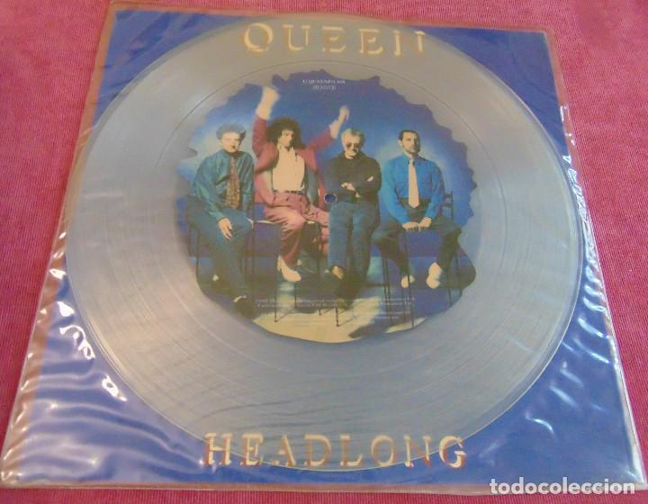 QUEEN – HEADLONG - MAXISINGLE 12'' PICTURE DISC 1991 (Música - Discos de Vinilo - Maxi Singles - Pop - Rock Internacional de los 90 a la actualidad)