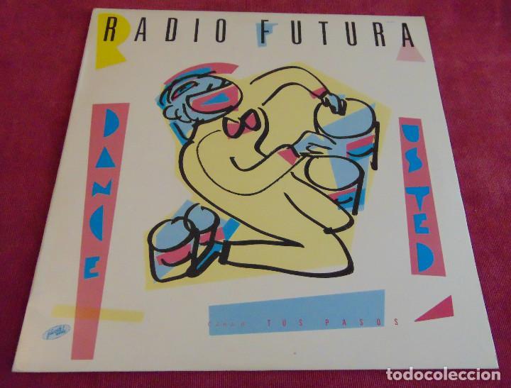RADIO FUTURA – DANCE UD. / TUS PASOS - MAXISINGLE 12'' 1983 (Música - Discos de Vinilo - Maxi Singles - Grupos Españoles de los 70 y 80)