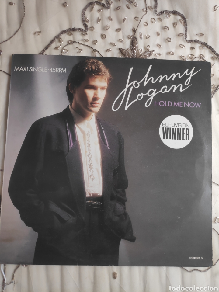 Discos de vinilo: Vinilo Maxisingle - 12 - Eurovision - Johnny Logan - Hold me now + Whats another year - Foto 2 - 263933285