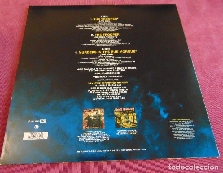 Discos de vinilo: Iron Maiden - The Trooper - MAXISINGLE 12 UK PICTURE DISC 2005 - Foto 2 - 263760310