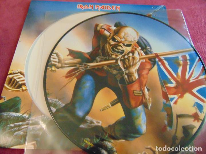 Discos de vinilo: Iron Maiden - The Trooper - MAXISINGLE 12 UK PICTURE DISC 2005 - Foto 3 - 263760310