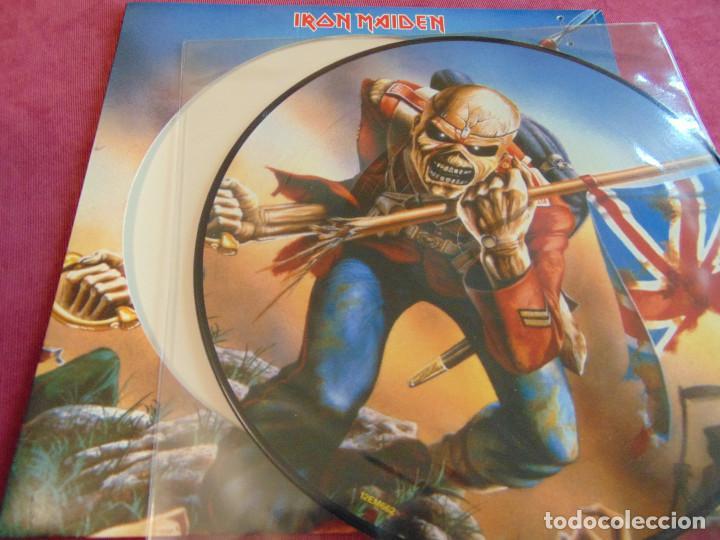 Discos de vinilo: Iron Maiden - The Trooper - MAXISINGLE 12 UK PICTURE DISC 2005 - Foto 4 - 263760310