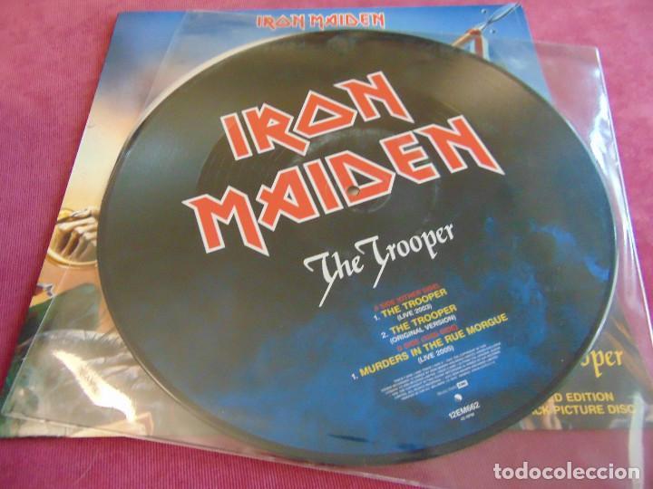 Discos de vinilo: Iron Maiden - The Trooper - MAXISINGLE 12 UK PICTURE DISC 2005 - Foto 5 - 263760310