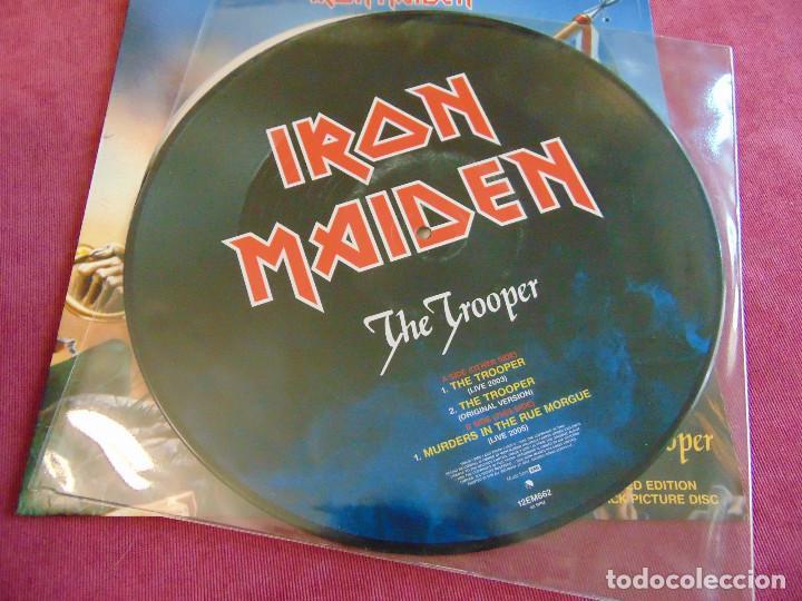 Discos de vinilo: Iron Maiden - The Trooper - MAXISINGLE 12 UK PICTURE DISC 2005 - Foto 6 - 263760310