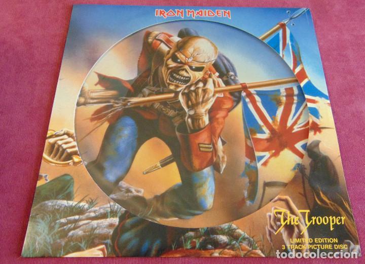 IRON MAIDEN - THE TROOPER - MAXISINGLE 12'' UK PICTURE DISC 2005 (Música - Discos de Vinilo - Maxi Singles - Heavy - Metal)