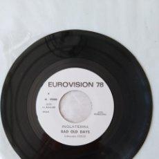 Discos de vinilo: COCO,BAD OLD DAYS PROMO SINGLE EUROVISION 78. Lote 263951470