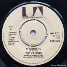 Discos de vinilo: THE VAPORS – PRISONERS / SUNSTROKE UK,1979 UNITED ARTISTS RECORDS. Lote 263957360
