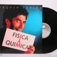 Discos de vinil: DISCO LP DE VINILO - JOAQUIN SABINA / FISCA Y QUÍMICA - ARIOLA - AÑO 1992 - CON ENCARTE Y LETRAS. Lote 263971090