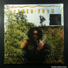 Discos de vinilo: PETER TOSH - LEGALIZE IT - DOBLE LP REEDCION 2016 - COLUMBIA ( NUEVO / PRECINTADO). Lote 263972685