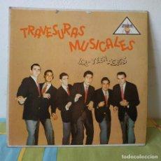 Disques de vinyle: LOS TEEN AGERS - TRAVESURAS MUSICALES - MUY RARO LP COLOMBIA SELLO ZEIDA LDZ 2056 DEL AÑO 1960. Lote 264039045