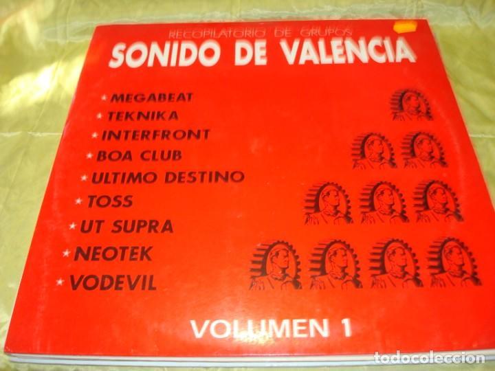 RECOPILATORIO DE GRUPOS. SONIDO DE VALENCIA. VOL. 1. TECNO INDUSTRIAL BEAT. MEGABEAT. (Música - Discos - LP Vinilo - Electrónica, Avantgarde y Experimental)